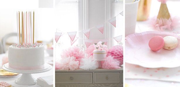 D co d anniversaire girly for Deco cuisine girly