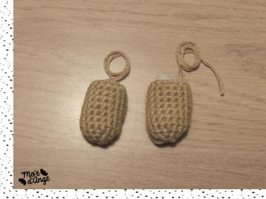 DIY bonhomme en pain d'épice crochet