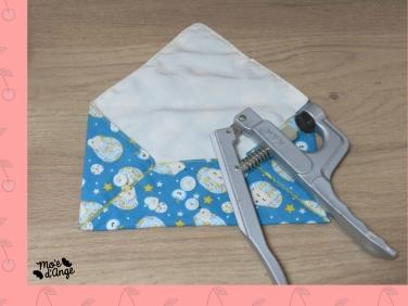 DIY Enveloppe en tissus