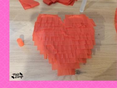DIY pinata coeur