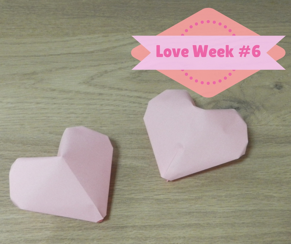 DIY Coeur en origami