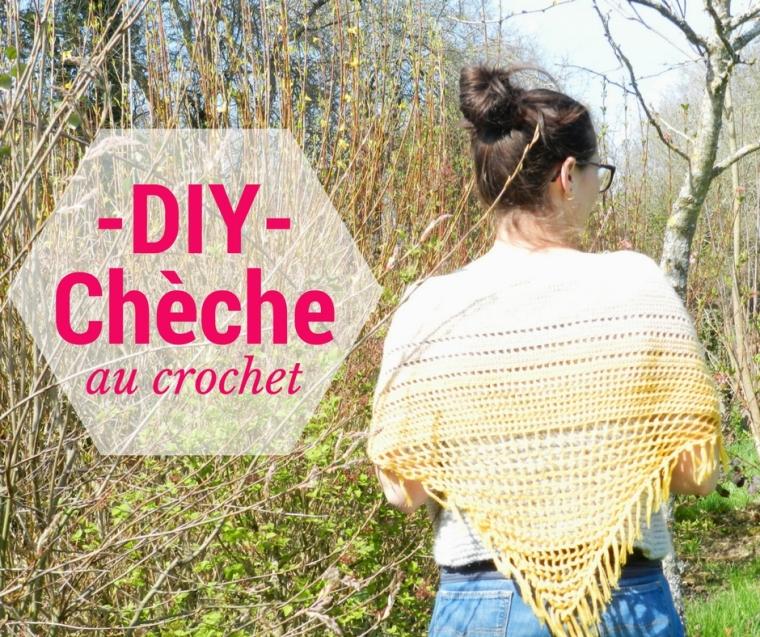 DIY cheche au crochet